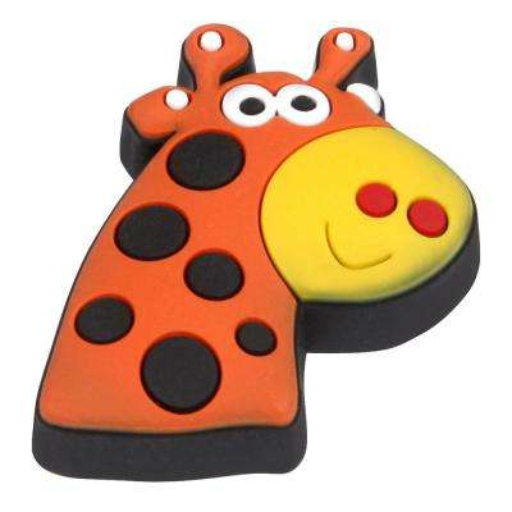 Kids Corner Giraffe 1-3/8 in. x 1-9/16 in. Multi-Colored Metal Cabinet Knob