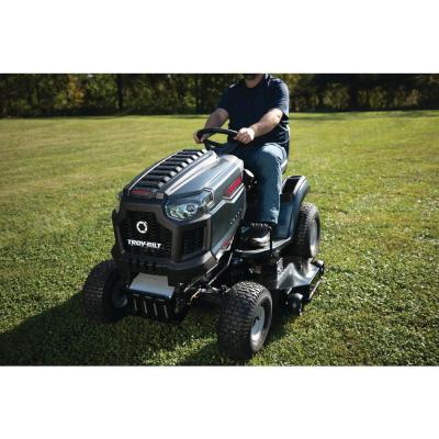 Super Bronco XP 46 in. Fabricated Deck 679cc V-Twin Engine Hydrostatic Drive Gas Riding Lawn Mower