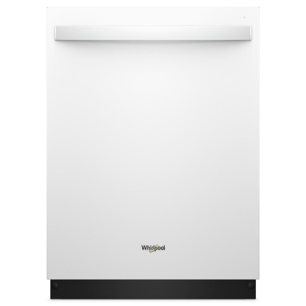 Whirlpool 24 in. Top Control Built-In Tall Tub Dishwasher in ...