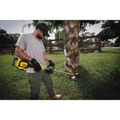 20-Volt MAX Lithium Ion Cordless 13 in. Brushless Dual Line String Grass Trimmer (Tool Only) w/ Bonus 20-Volt Kit