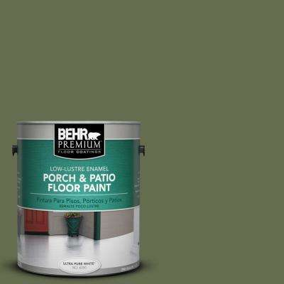 1 gal. #S380-7 Global Green Low-Lustre Porch and Patio Floor Paint