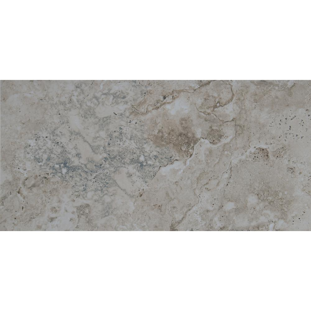 MSI Romagna Gray 5 in. x 5 in. Polished Porcelain Floor and Wall Tile (5  sq. ft. / case)
