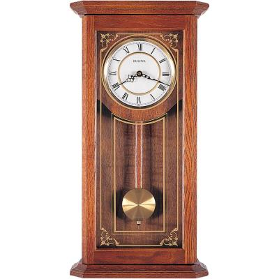26 in. x 12.25 in. Pendulum Wall Clock