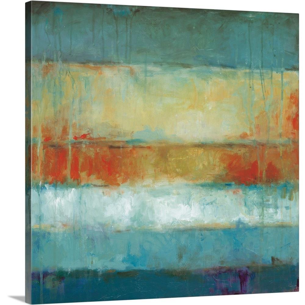 Greatbigcanvas Color Block By Wani Pasion Canvas Wall Art