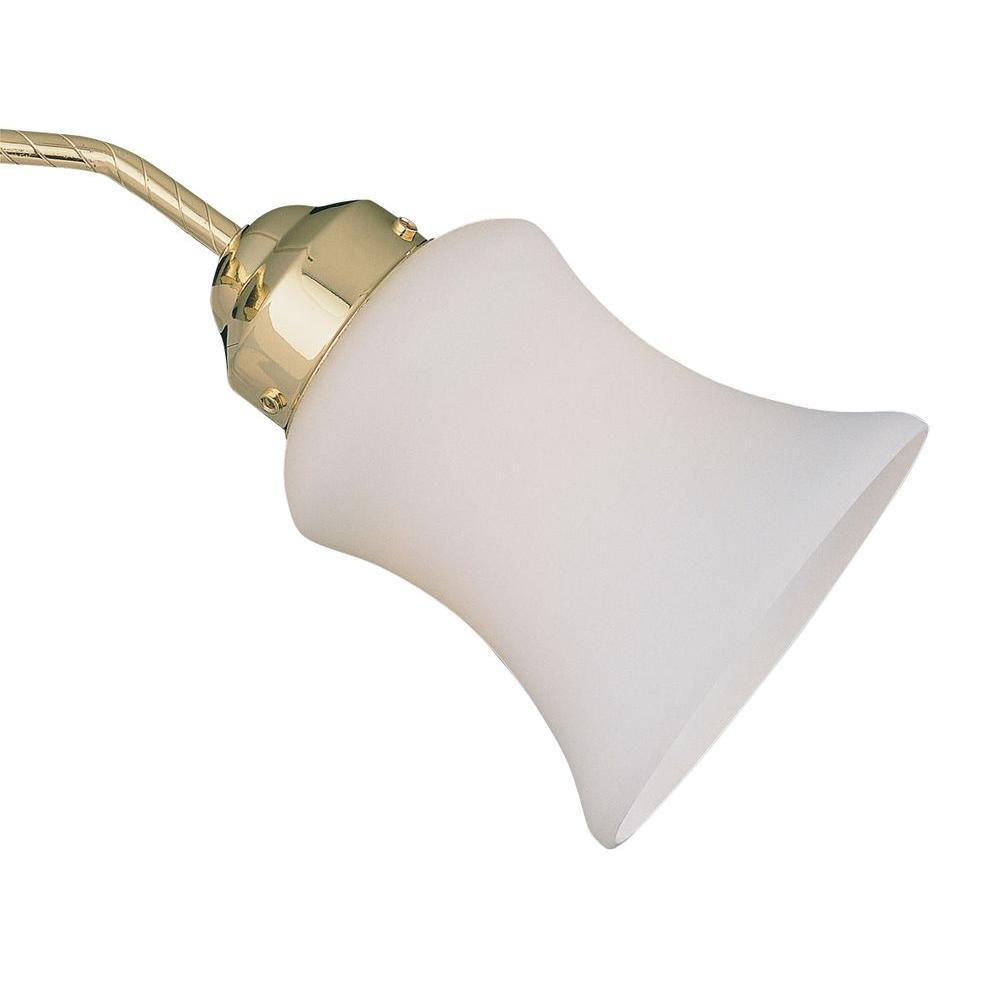 Illumine Ceiling Fan Side Glass Opal Frost