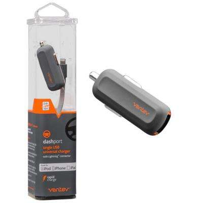 Dashport R1240 Car Charger with Apple Lightning Cable