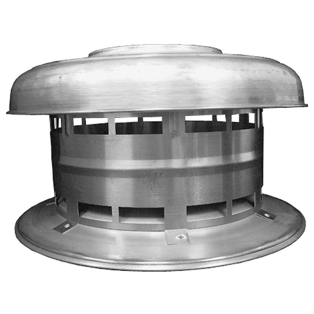 8 in. Aluminum B-Vent Rain Cap