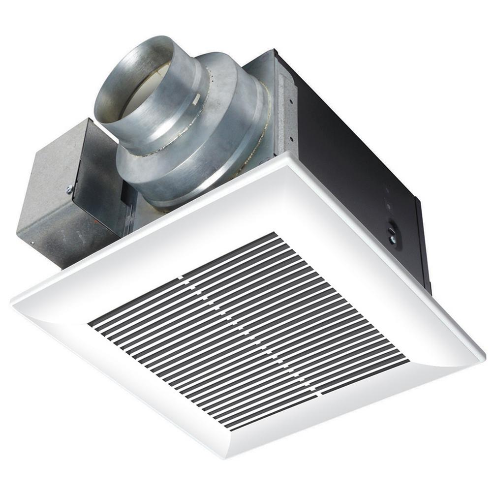 Panasonic whisperceiling 80 cfm ceiling exhaust bath fan for 6 bathroom exhaust fan