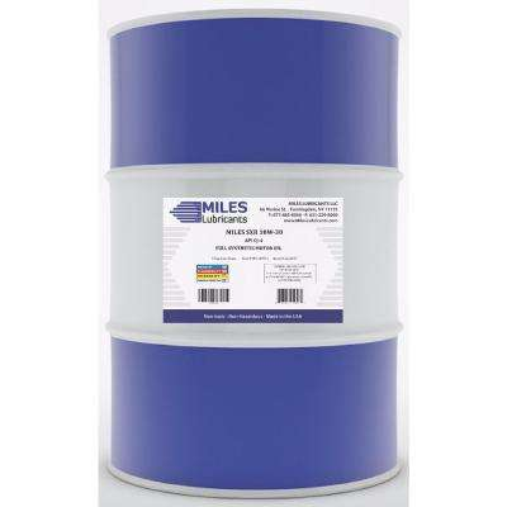 Milesyn SXR 10W30 API GF-5/SN, 55 Gal. Full Synthetic Motor Oil Drum
