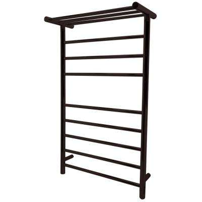 Eve 8-Bar Stainless Steel Wall Mounted Towel Warmer in Oil Rubbed Bronze