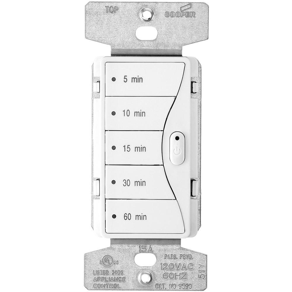 Aspire Cooper Wiring Diagram Eaton 1800 Watt 15 Amp 5 Button Minute Timer Alpine White