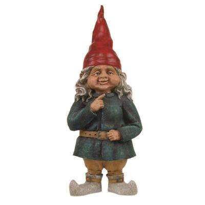 21 in. Zelda the Gnome Woman with Long Hair Statue