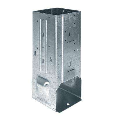 MPBZ ZMAX Galvanized Moment Post Base for 6x6 Nominal Lumber with SDS Screws