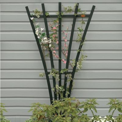 Charleston Green Recycled Plastic Hartford Fan Trellis