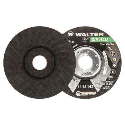 ZIP ALU 4.5 in. x 7/8 in. Arbor x 3/64 in. T27 Cutting Wheel for Aluminum (25-Pack)