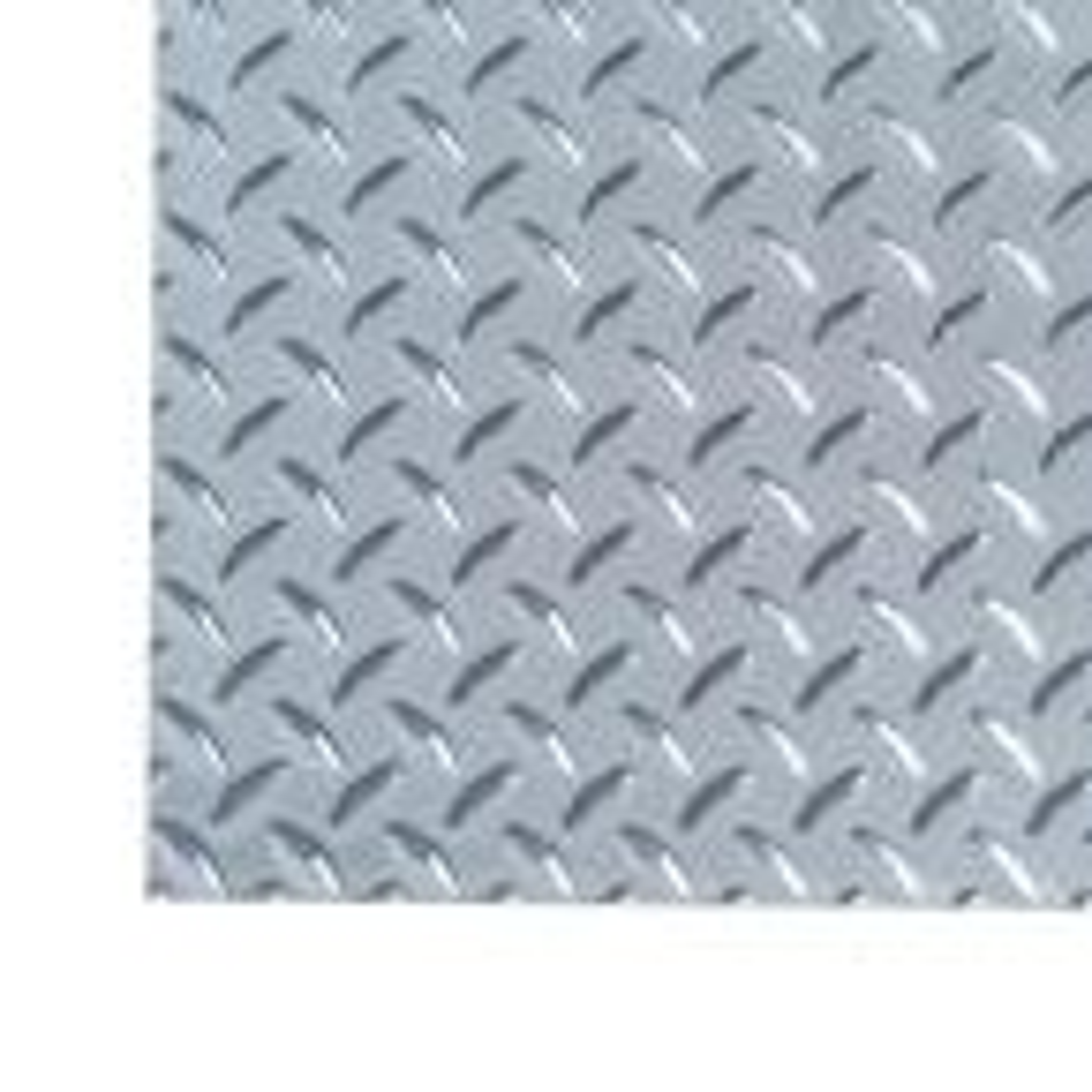 1 ft. x 1 ft. Diamond Tread Light Weight Aluminum Sheet