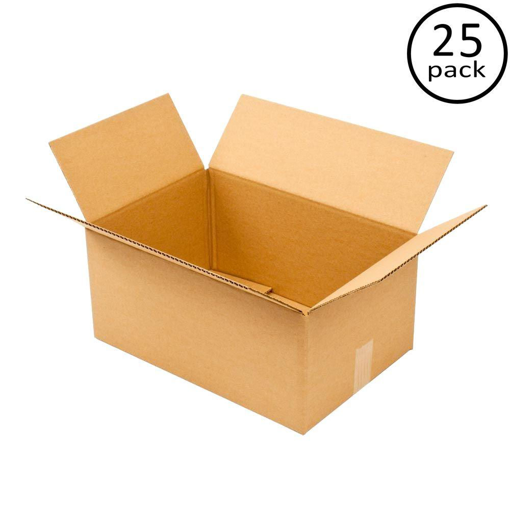 Plain Brown Box 18 in. x 12 in. x 8 in. 25 Moving Box Bundle
