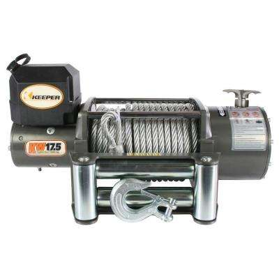 17,500 lbs. Utility Winch 12VDC with Wireless Remote