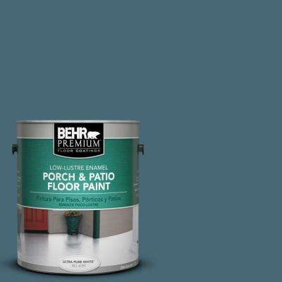 1 gal. #S470-6 Shipwreck Low-Lustre Porch and Patio Floor Paint