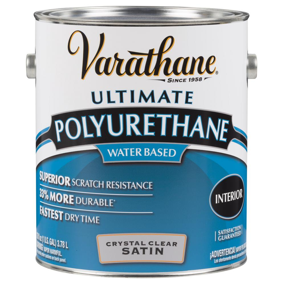 Great Clear Satin Water Based Interior Polyurethane