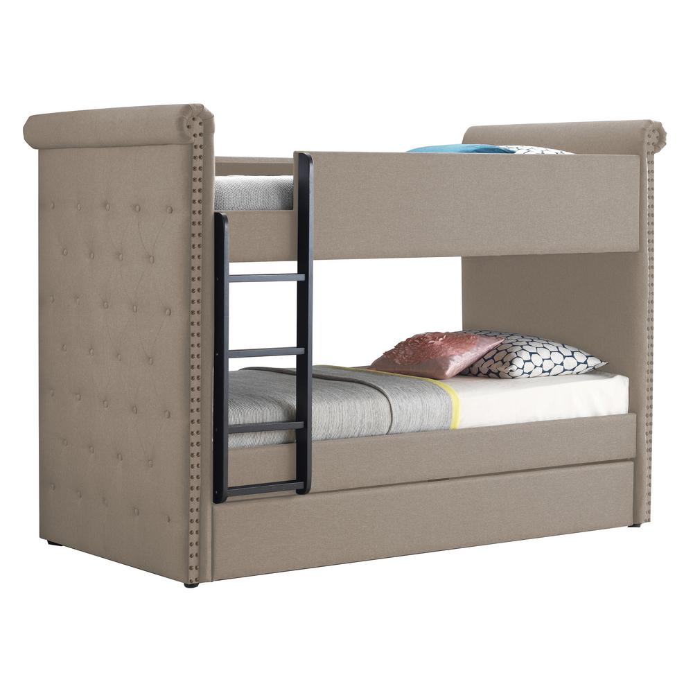 Acme Furniture Romana Ii Beige Fabric