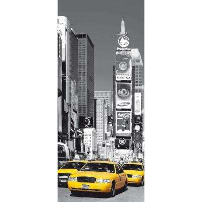 79 in. x 0.25 in. Nyc Times Square Wall Mural