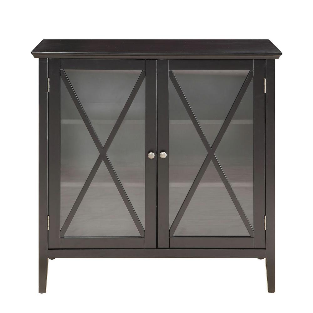 Callie Black Large Cabinet
