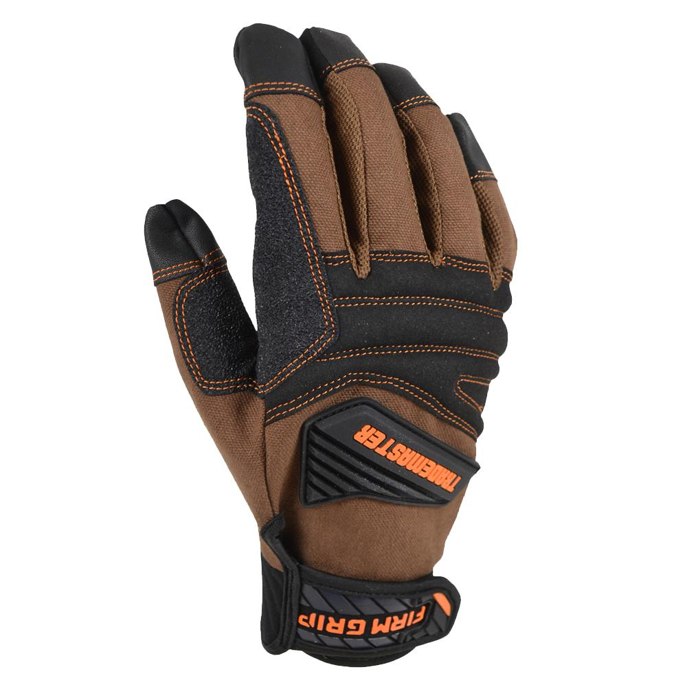 Firm Grip Trade Master Large Tan Duck Canvas Glove