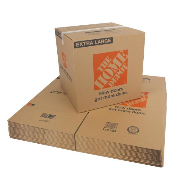 22 in. L x 22 in. W x 21-1/2 in. D Extra-Large Moving Box (25-Pack)