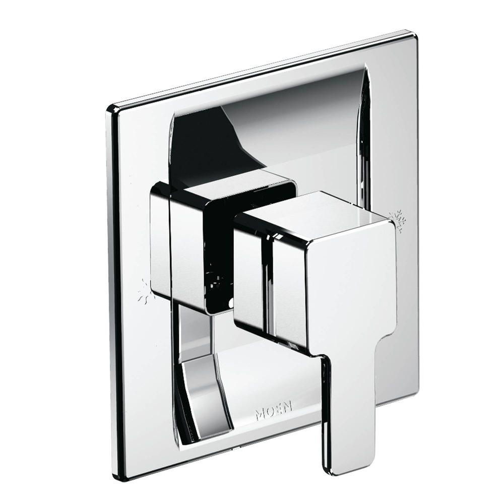 90-Degree Moentrol Tub/Shower Trim Kit in Chrome (Valve Not Included)