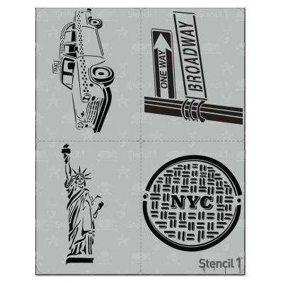 NYC Stencil (4-Pack)