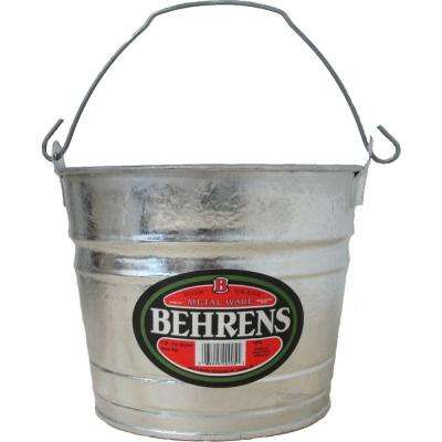 5 Qt. Hot Dipped Steel Pail