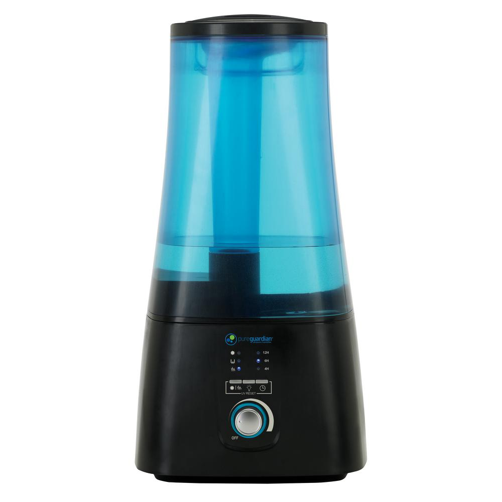 2 Gal. Ultrasonic Warm and Cool Mist Humidifier with UV-C and