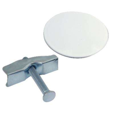 1-3/4 in. Universal Sink Hole Cover in White