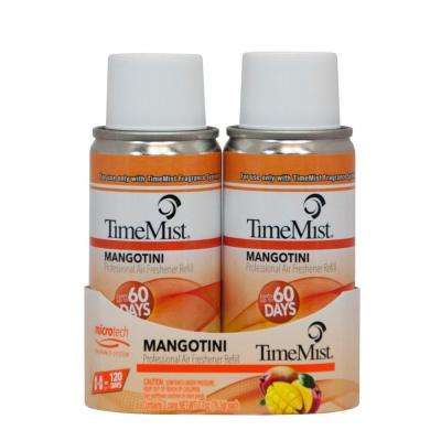 3 oz. Mangotini Automatic Air Freshener Spray Refill (Case of 6)