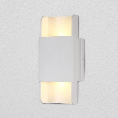 Atlas 4.75 in. White Integrated LED Sconce