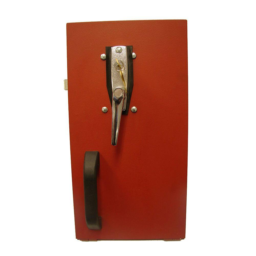 Gordon cellar door chrome exterior keyed lock lk the home depot - Cellar door hinges ...