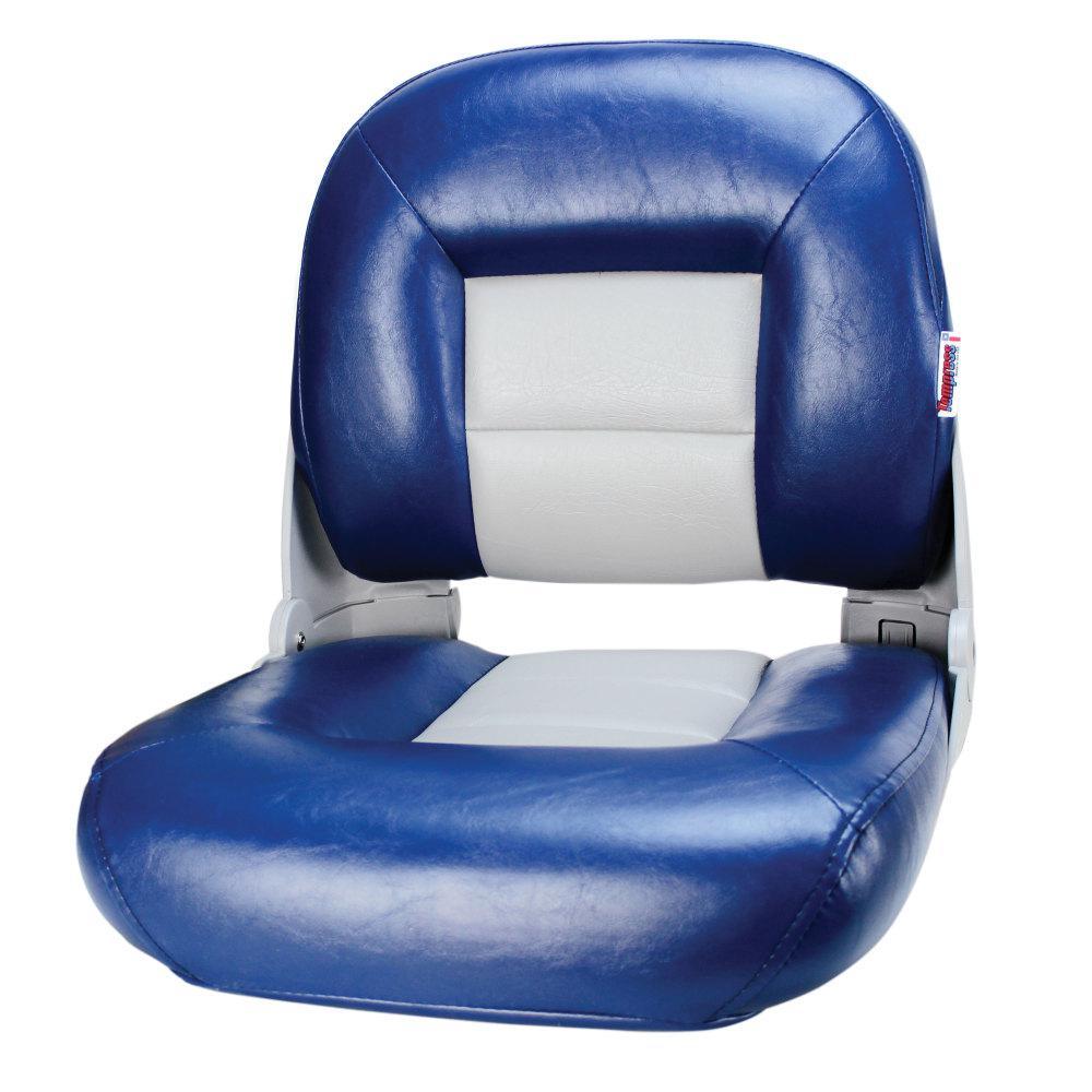 Navistyle Boat Seats in Blue/Gray
