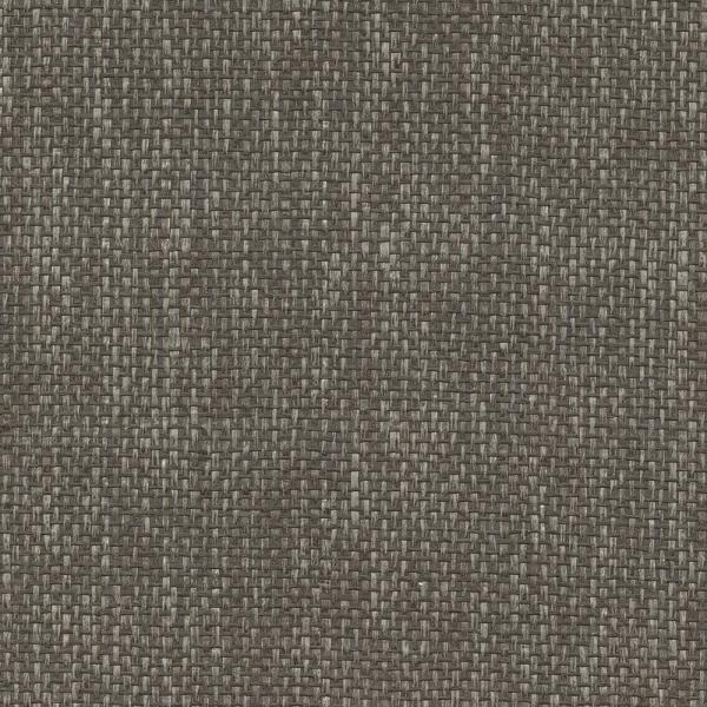 Kenneth James 8 in. x 10 in. Wujiang Espresso Paper Weave Wallpaper Sample