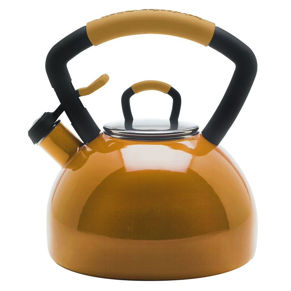 KitchenAid 9-Cup Tea Kettle in Mustard-DISCONTINUED