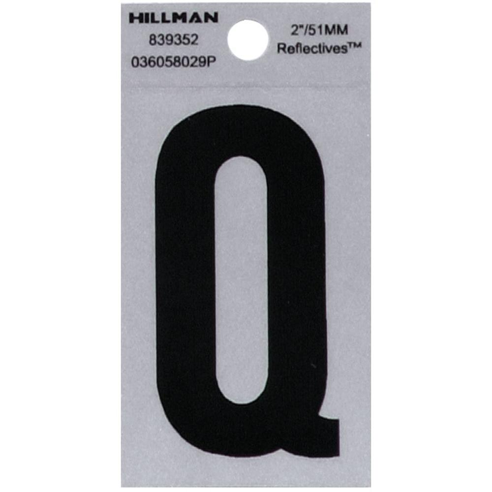HY-KO 2 in. Vinyl Reflective Number 2-RV-25/2 - The Home Depot