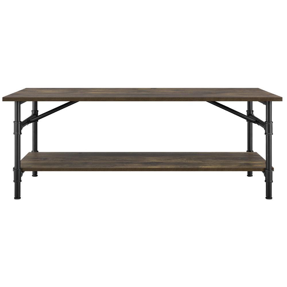Chesterfield Rustic Single Pedestal Desk