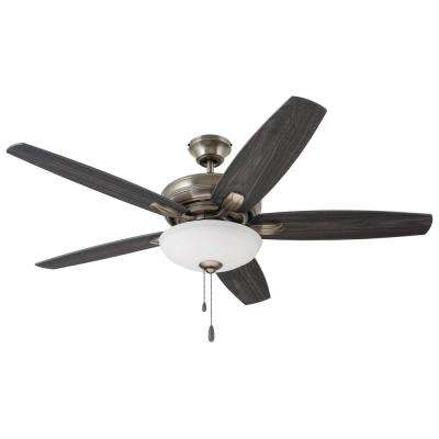Ashland 52 in. Antique Pewter Ceiling Fan