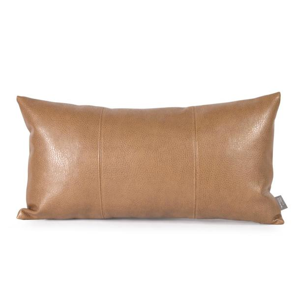 Avanti Browns and Tans Solid Polyester 5 in. x 22 in. Throw Pillow