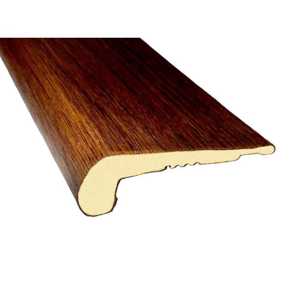 Engineered Wood Moulding Trim Stair Nose Wood Floor Trim Hardwood Flooring The Home Depot