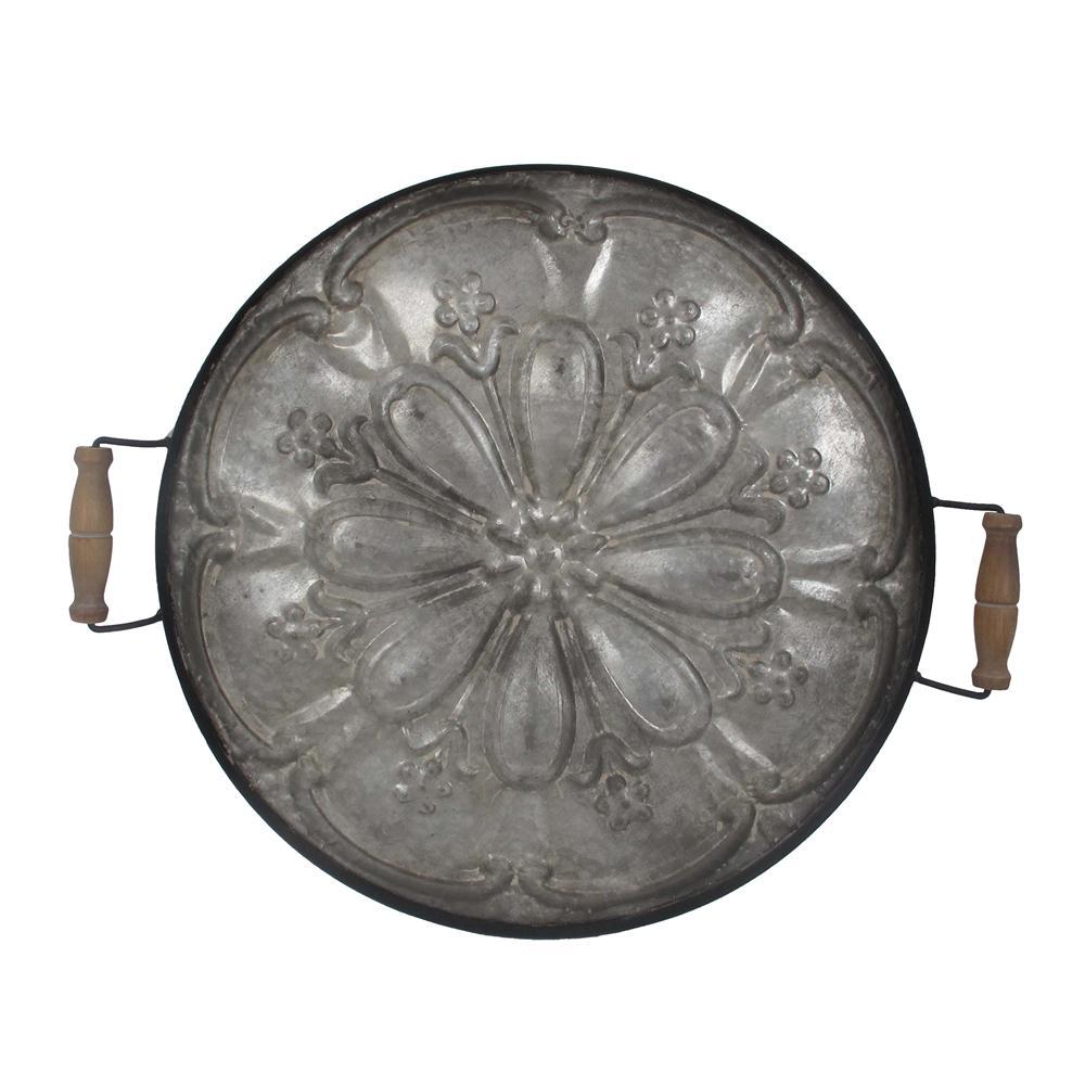 Ravello Round Antique Tray