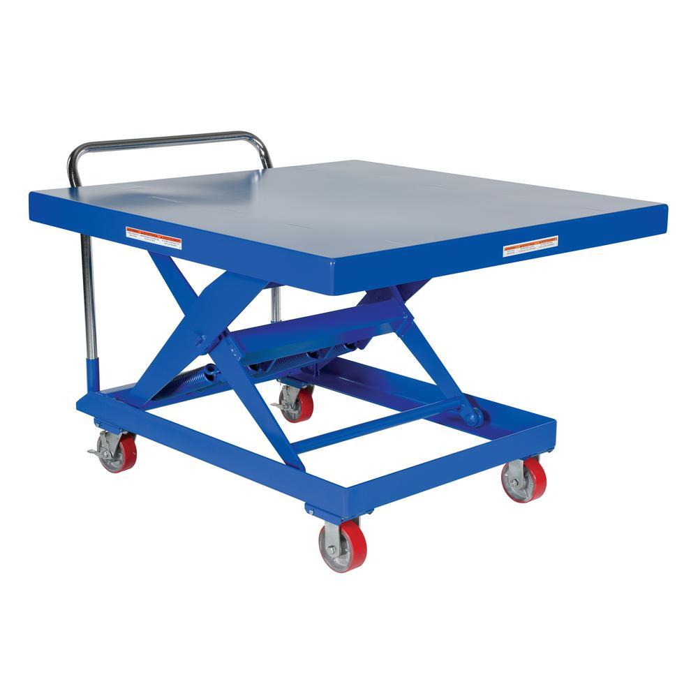 48 in. x 48 in. 1,000 lb. Capacity Auto-Hite Cart
