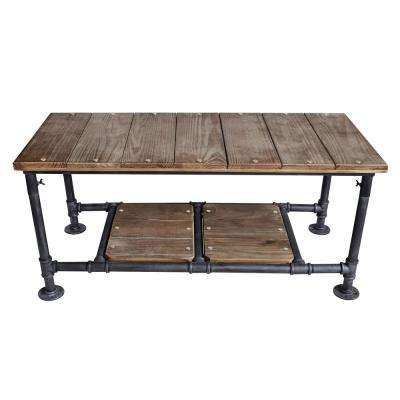 Montero Industrial Grey Coffee Table