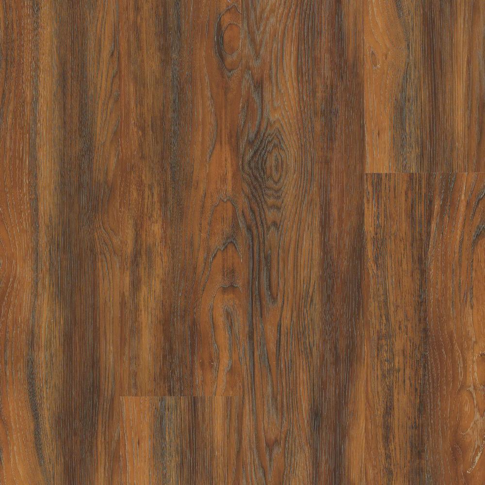 Floorte Jefferson 7 in. x 48 in. Tellico Resilient Vinyl Plank Flooring (18.68 sq. ft. / case)
