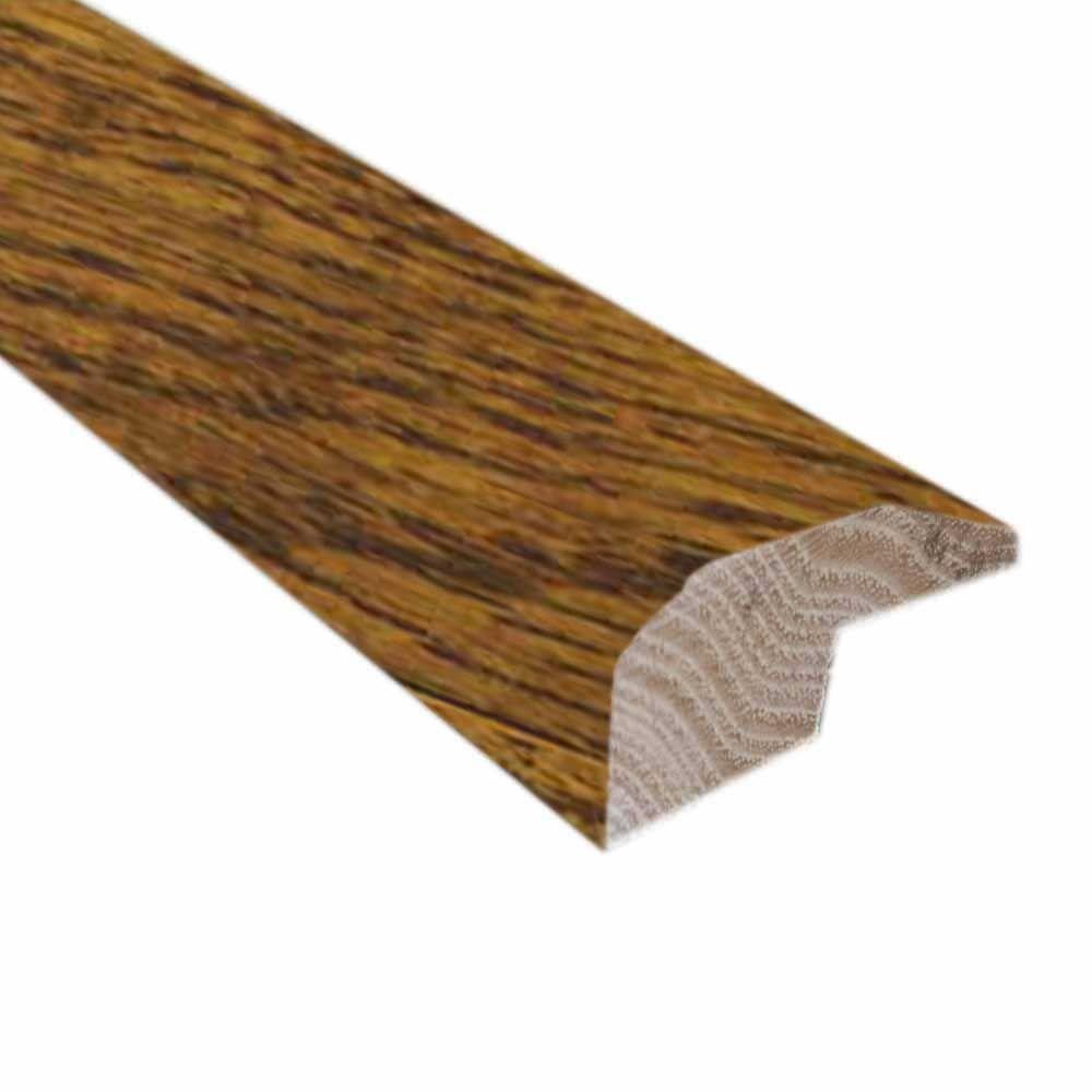 Oak Old World Brown 0.88 in. Thick x 2 in. Wide